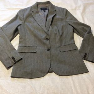 Banana Republic Suit / Career Jacket Striped 6